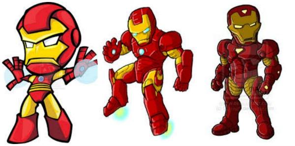 Iron Man Cartoon Character Images