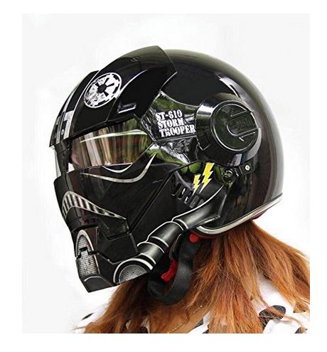 Custom Motorcycle Helmet Conversions How To Make An Iron Man - Motorcycle half helmet decalscustom motorcycle helmet decals and motorcycle helmet stickers