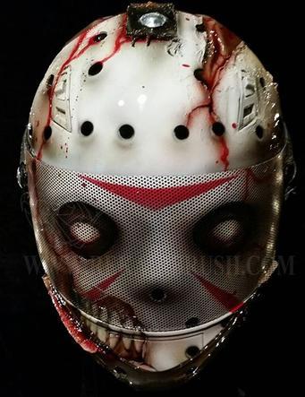 Halloween Motorcycle Helmets Scary Halloween Clown Masks