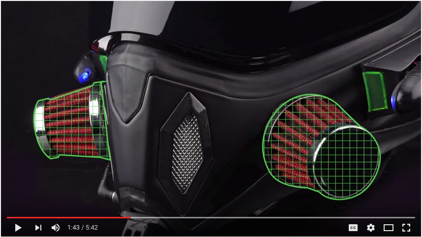 MOTO PILOT Helmet 5