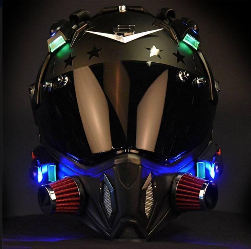 How To Make A Moto Pilot Helmet