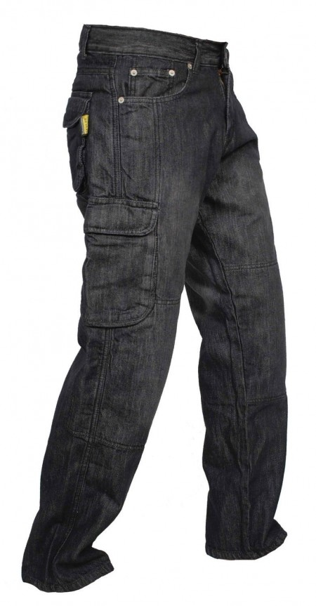 Men's Motorcycle Motorbike Jeans Reinforced with Protective Linning