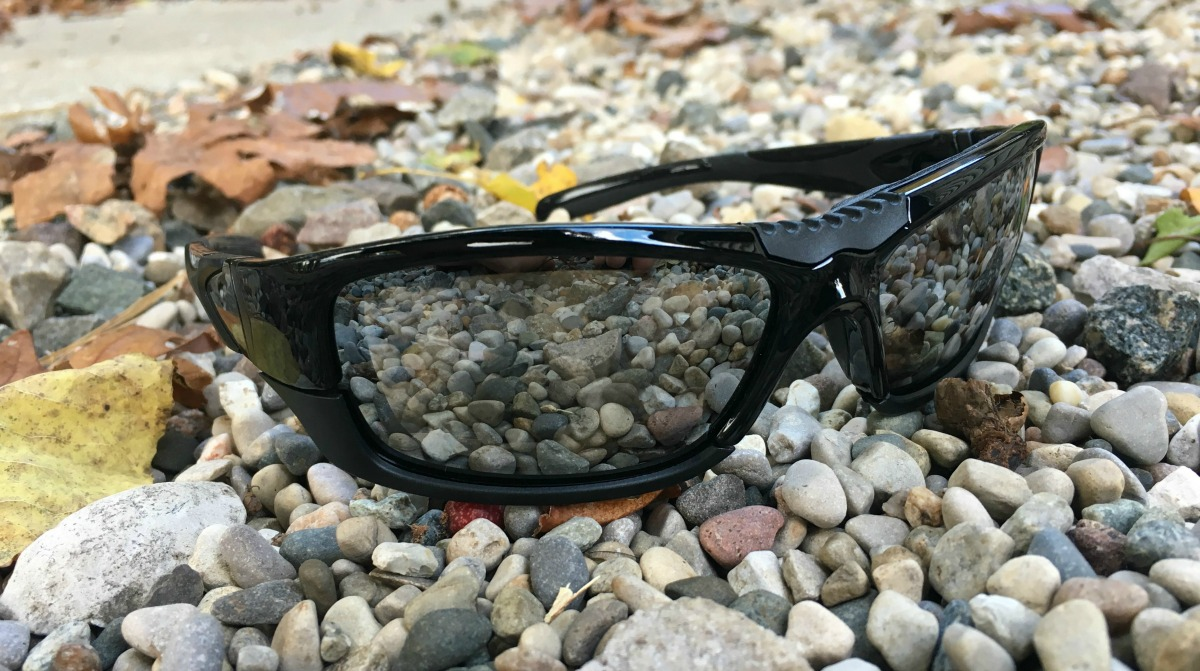 f0ed5658c6 The sunglasses come in black with a glossy tinted glass that blocks and  reflects off the sunlight. The trendy design with a cool ridge on top of  the lenses ...