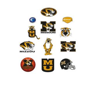 Missouri Tigers Team Logo Assortment