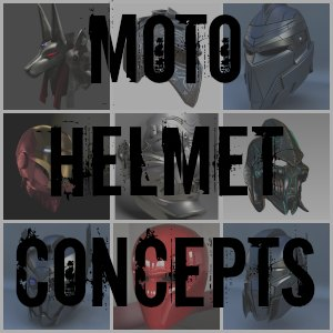 Motorcycle Helmet concepts button