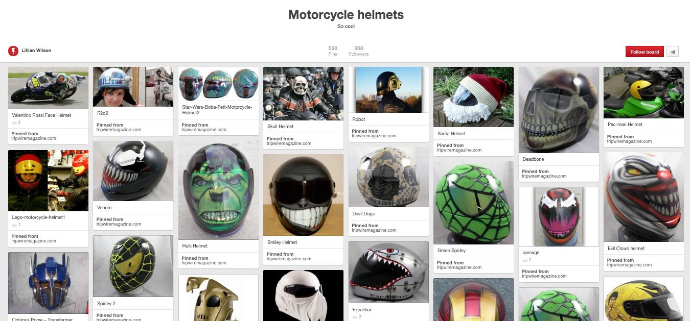 Motorcycle Helmets So cool