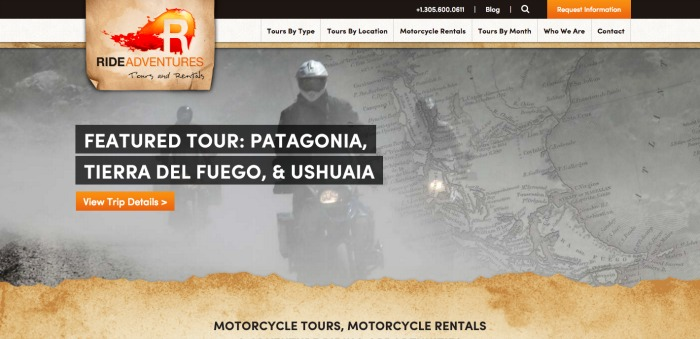 Motorcycle tours Motorcycle rentals Adventure Riding Travel