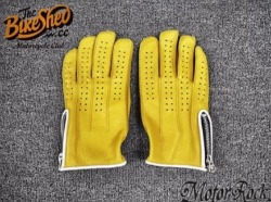 new-deerskin-leather-retro-vintage-motorcycle-gloves-riding-zipper-hole-yellow-automotive