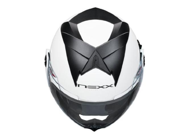 Nexx X30.V Plain Helmet White