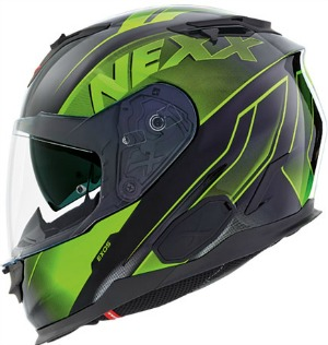 Nexx XT1 Full Helmet in exos green