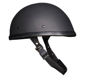 Novelty Low Profile Helmet Eagle Flat Black