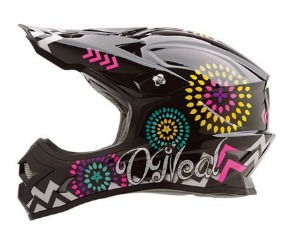 O Neal 3 Series Women s Sawyer Helmet  Black Multicolor