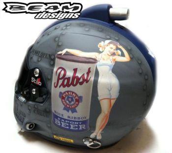 Pabst Beer Helmet