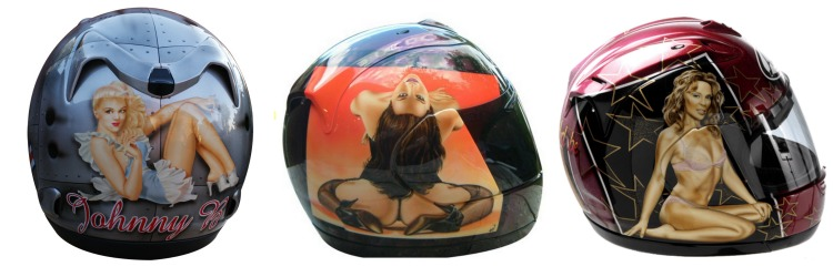 Piersdowell Airbrushed Helmet Collection