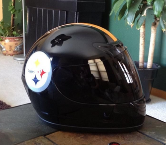 Nfl Themed Motorcycle Helmets The Love Of Football