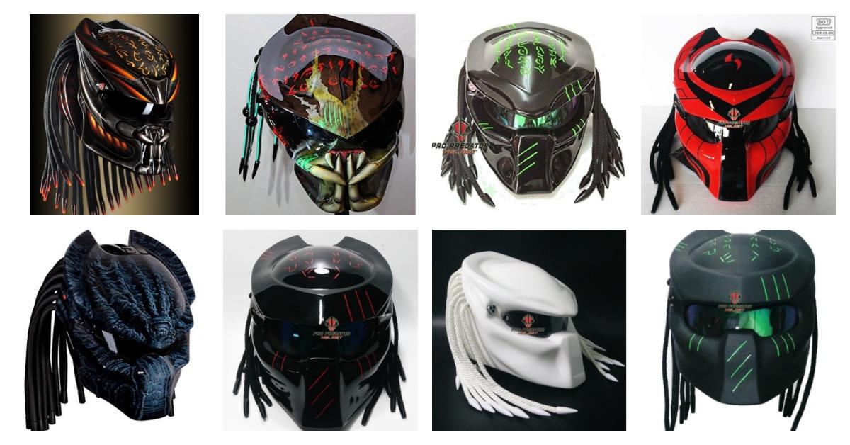 Harley Davidson Battery >> Predator Motorcycle Helmets