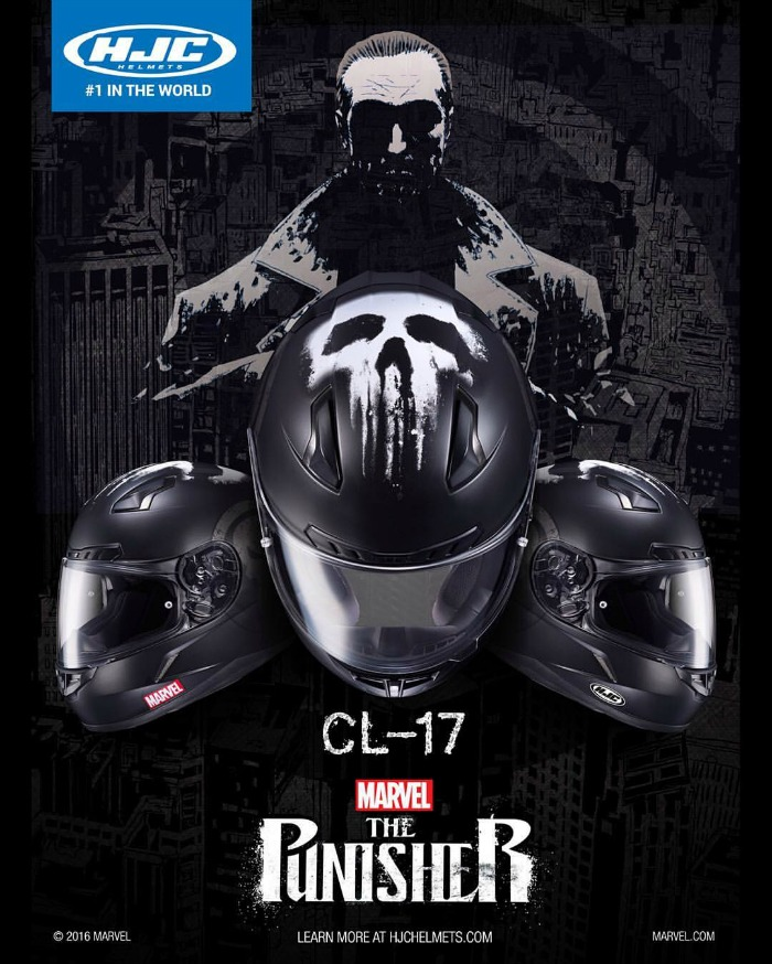 Punisher Motorcycle Helmets