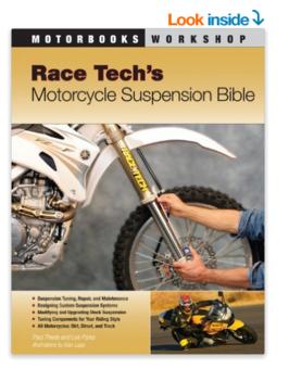 Race Tech s Motorcycle Suspension Bible Motorbooks Workshop Paul Thede Lee Parks