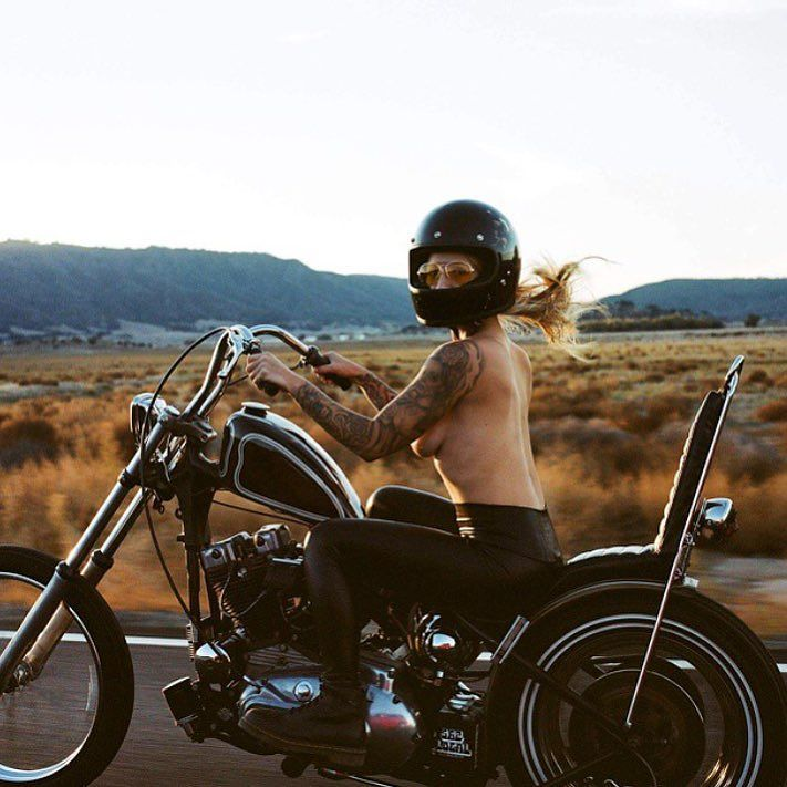 Real Motorcycle Women - eaglesridingco