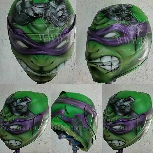 Tmnt Teenage Mutant Ninja Turtle Motorcycle Helmets