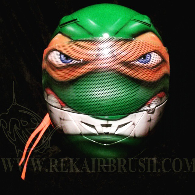 Tmnt Teenage Mutant Ninja Turtle Motorcycle Helmets