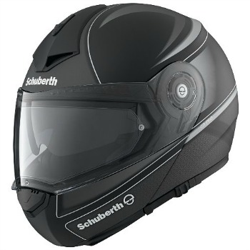 Schuberth C3 Pro Dark Classic Helmet in matte black