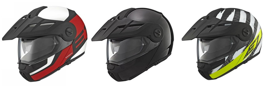Schuberth E1 Motorcycle Helmet Set