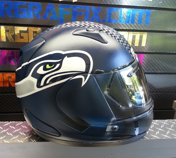 NFL Themed Motorcycle Helmets