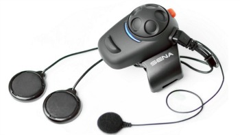 Sena SMH5 02 Low Profile Motorcycle Bluetooth Headset