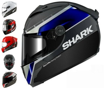 Shark Pro Carbon Motorcycle Helmet Collection