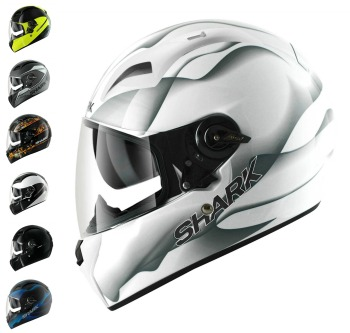 Shark Vision R Series 2 Motorcycle Helmet Collection