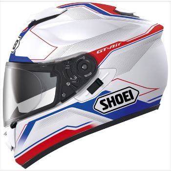 Shoei GT Air Motorcycle Helmet with graphics