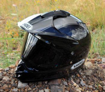 Shoei Hornet DS Helmet in Black 2