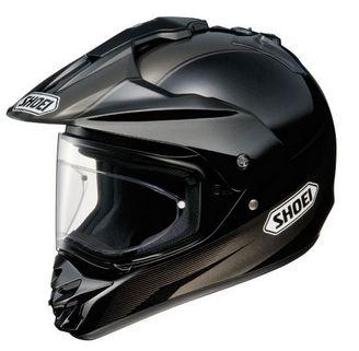 Shoei Hornet DS Helmet in Black