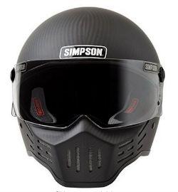 Simpson M30 Bandit DOT Carbon Fiber Motorcycle Helmet