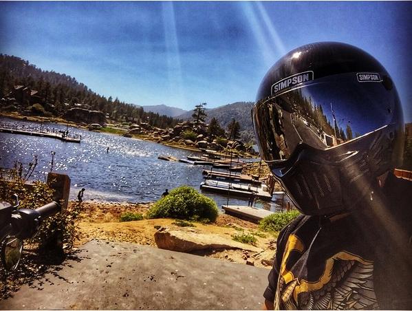 Simpson M30 Carbon Fiber Helmet 3