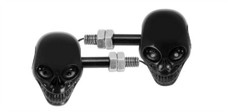 Skull Motorcycle Blinkers 3