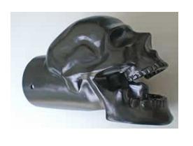 Skull Motorcycle Exhaust Tip 2