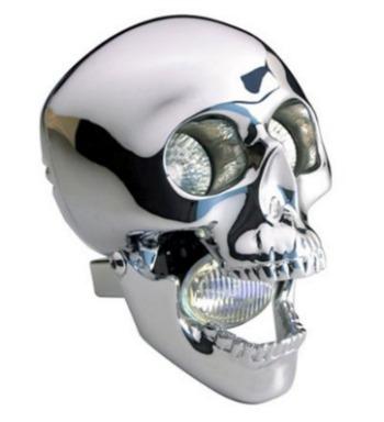 Skull Motorcycle Headlight 3