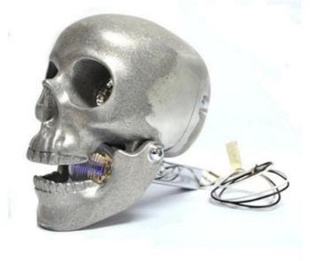 Skull Motorcycle Headlight 4