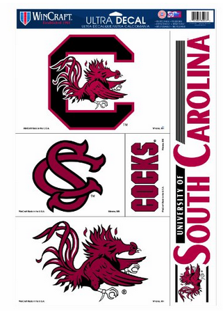 South Carolina Fighting Gamecocks Decals