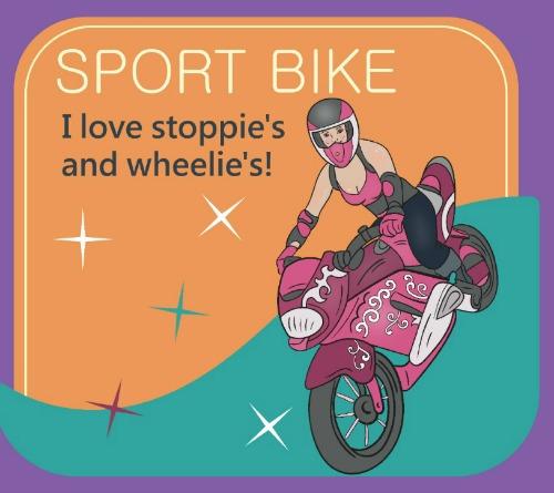 Sport Bike Chic