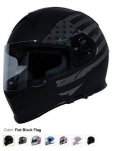TORC T14 Full Face Motorcycle Helmet
