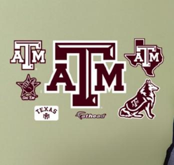 Texas A M Aggies Team Decals