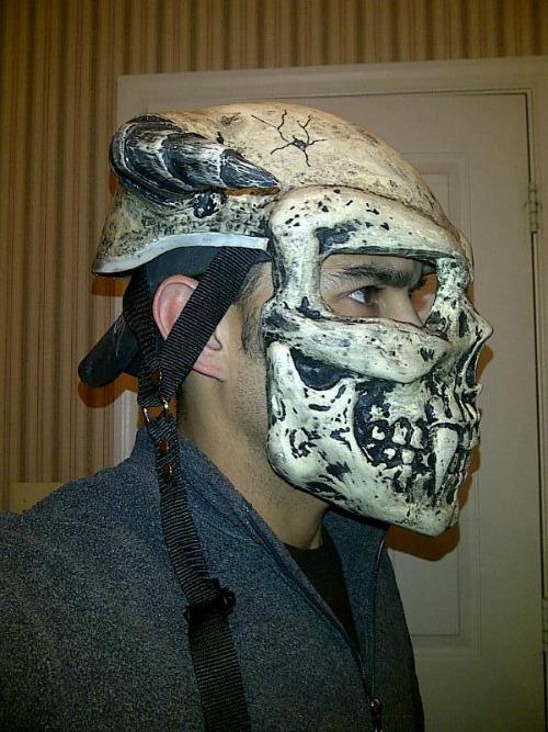 Devil Tail Customs 3d Custom Motorcycle Helmet Artist