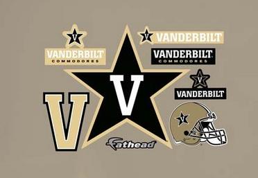Vanderbilt Commodores Decals