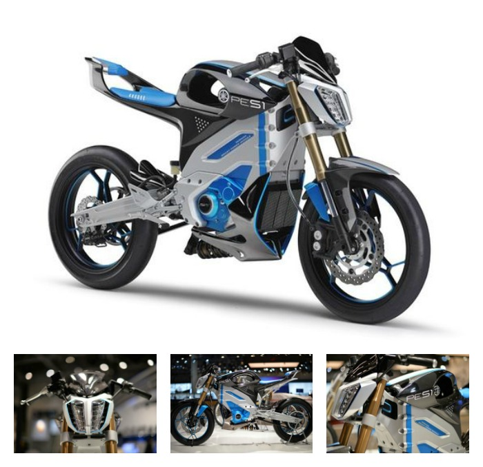 Yamaha PES1 Electric Motorcycle