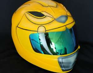 Power Rangers Motorcycle Helmets All About Your Childhood Superheroes