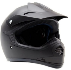 Youth Kids Offroad Helmet DOT Motocross ATV Dirt Bike MX Motorcycle Matte Black