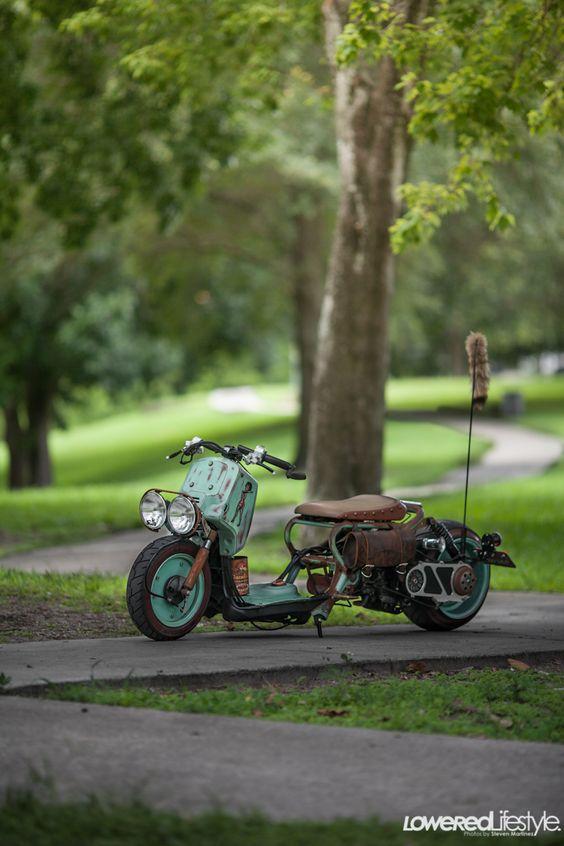 badass scooter12 lowered lifestyle